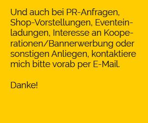 Koop und Werbung Text