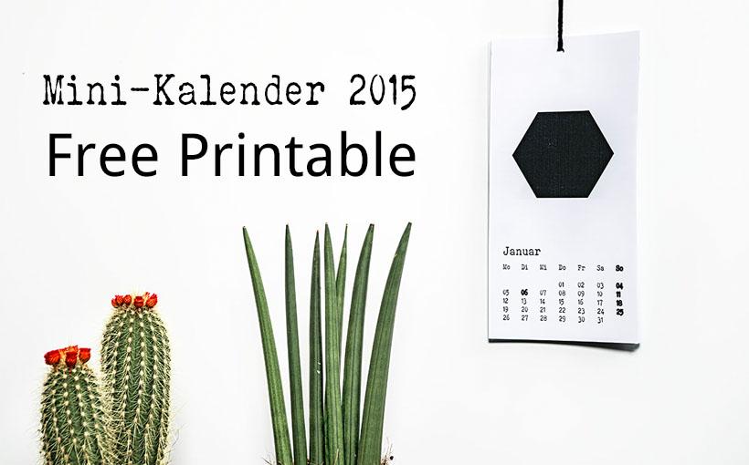 Kalender 2015 Text