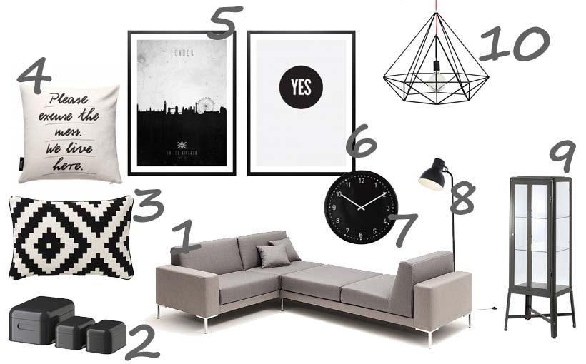 unser neues wohnzimmer:Unser neues Wohnzimmer – Einkaufsliste