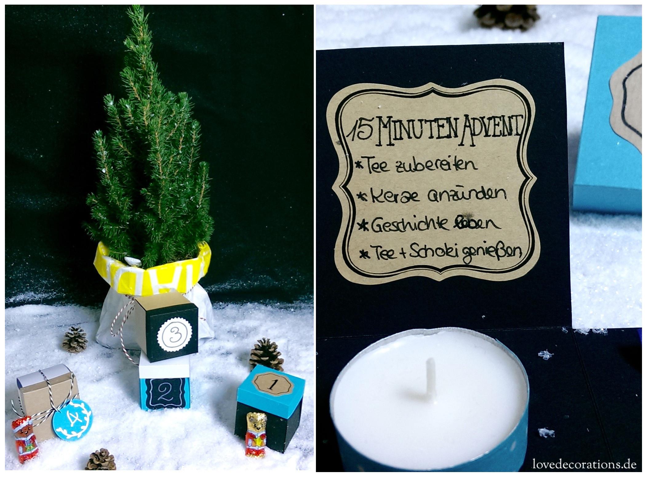 15 Minuten Adventsbox 1