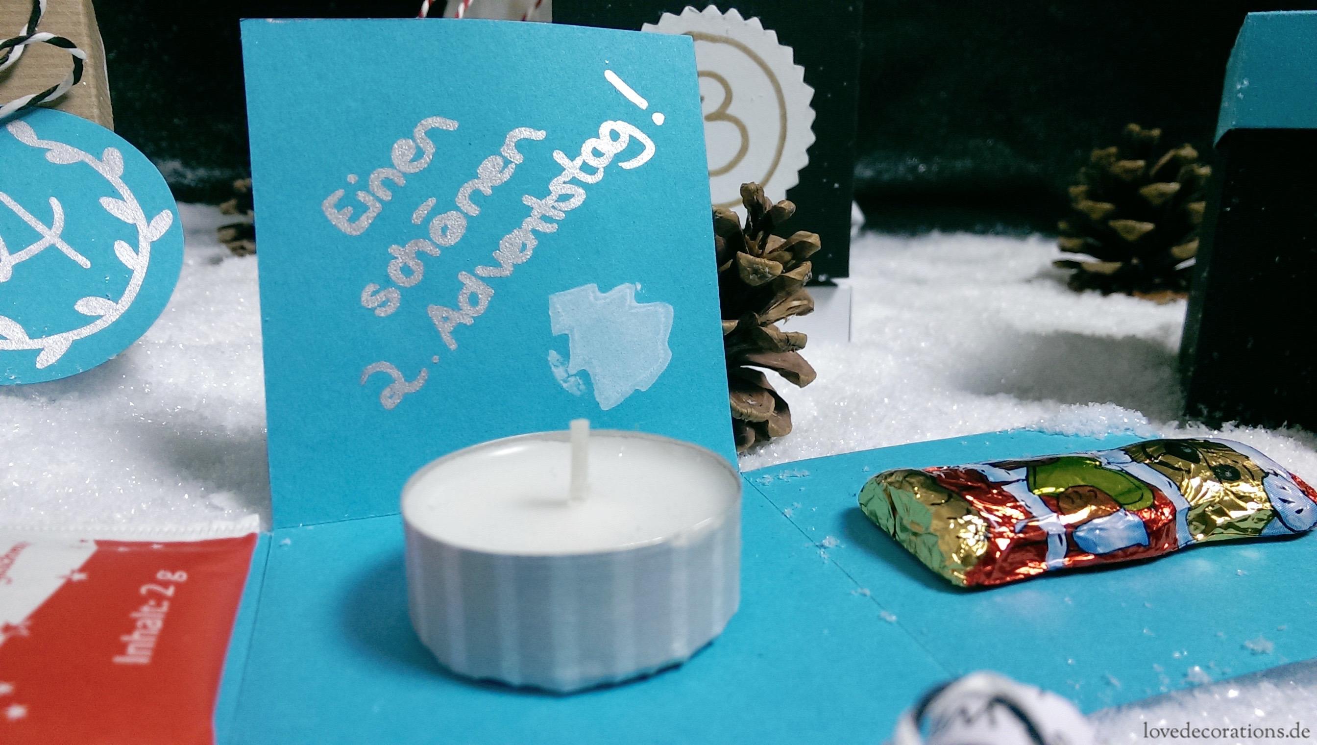 15 Minuten Adventsbox 12