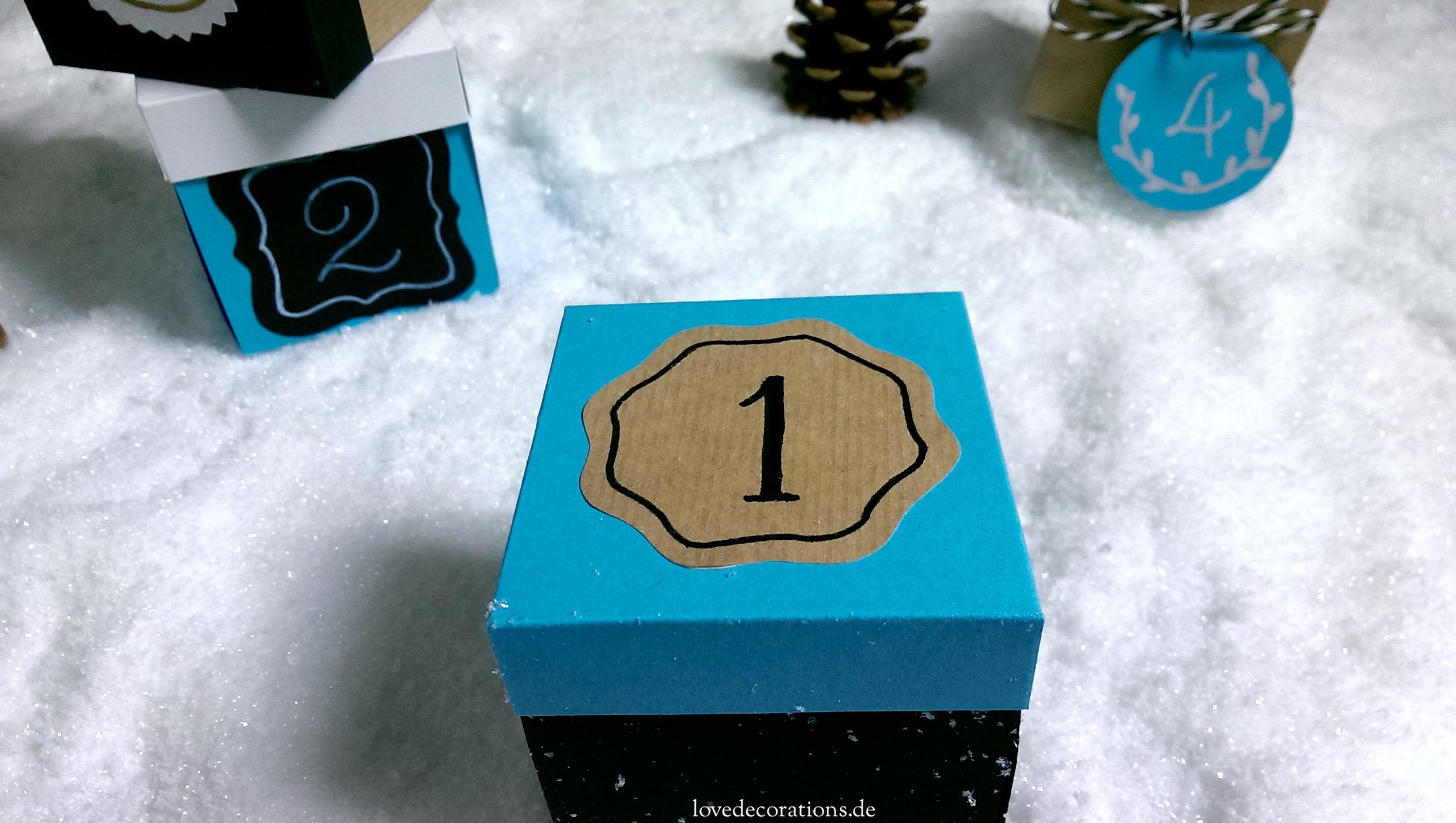 15 Minuten Adventsbox 4