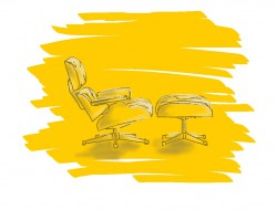 Sketch Eames Lounge Chair