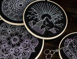 sticken-embroyding-stitching-schwarz-weiss-black-white-mandala-adventure-nature-blackwork-11
