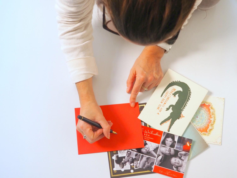 weihnachtskarten-schreiben