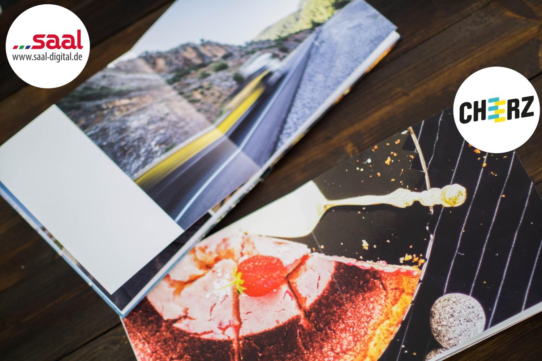 Fotobuch Cheerz Saal-Digital Vergleich Fotoalbum Logo 5
