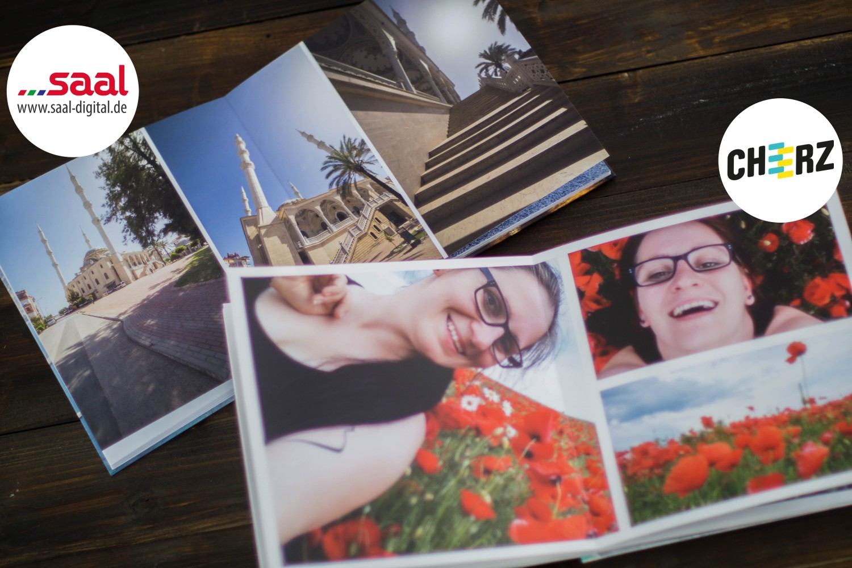 Fotobuch Cheerz Saal-Digital Vergleich Fotoalbum Logo 6