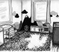 Kinderzimmer Wohnberatung Tafellack Wiese Berge Fantasie