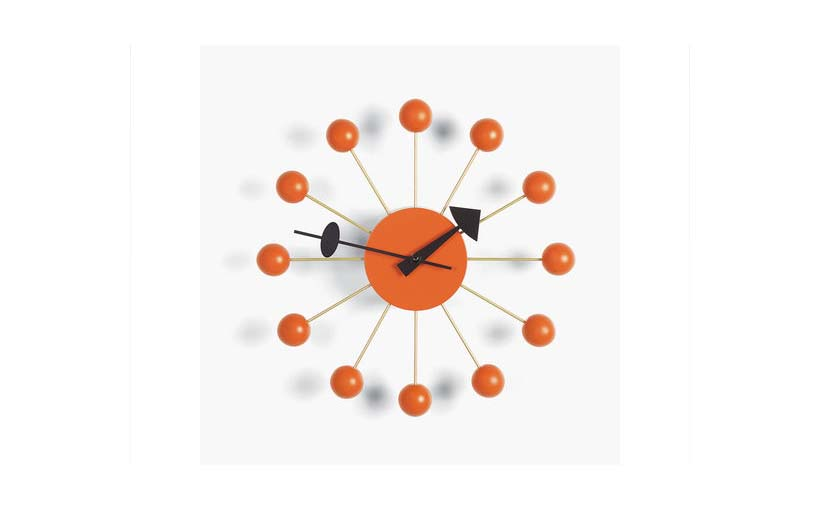 designklassiker ball clock atomic clock der schl ssel zum gl ck. Black Bedroom Furniture Sets. Home Design Ideas