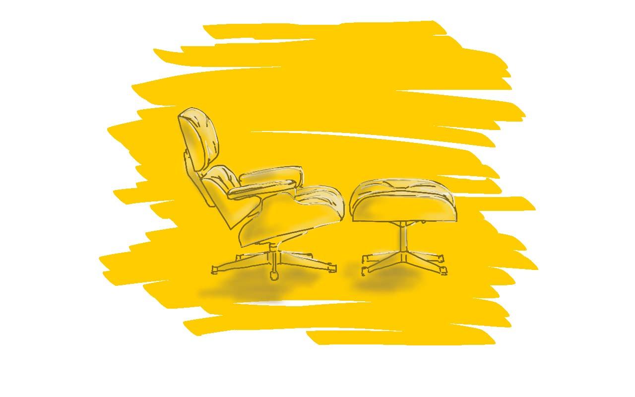 Designklassiker U2013 Eames Lounge Chair