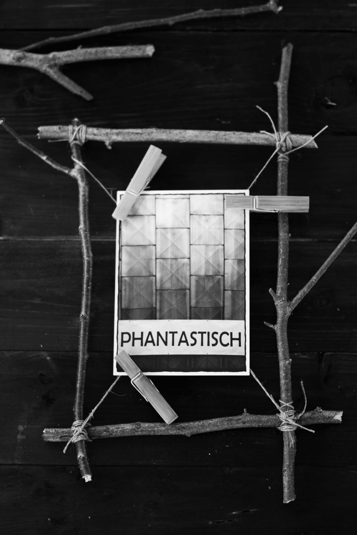 Waldspaziergang - einfacher DIY Rahmen aus Stöcken - Der Schlüssel ...