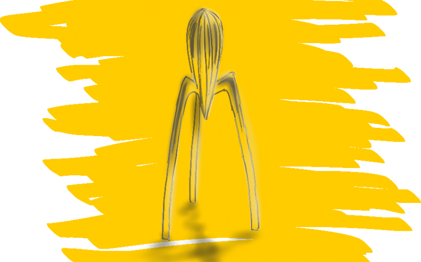 Designklassiker Juicy Salif Zitronenpresse