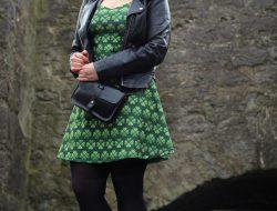 Kleid St Patricksday grün kleeblatt 20