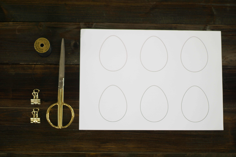 DIY Papier Oster Eier Ostereier
