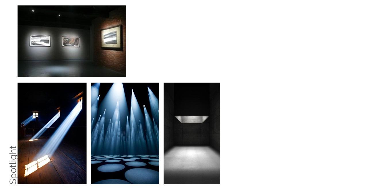 Collagen Innenarchitektur Farben und Materialien Showroom Dark Dunkel