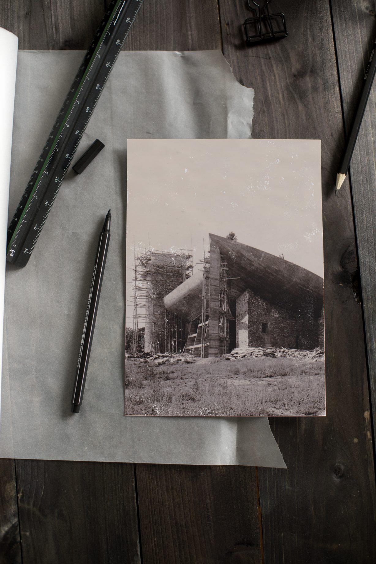 Le Corbusier Kirche Architektur Notre Dam du haut de ronchamp