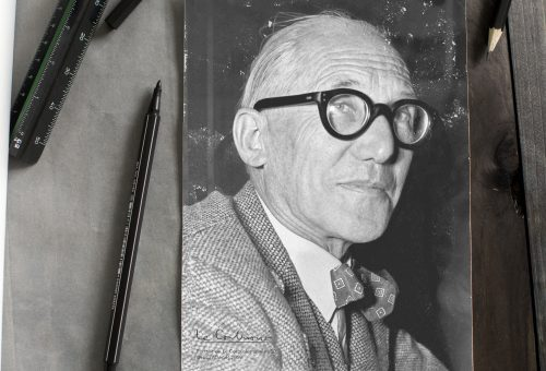 Le Corbusier Portrait Architekt
