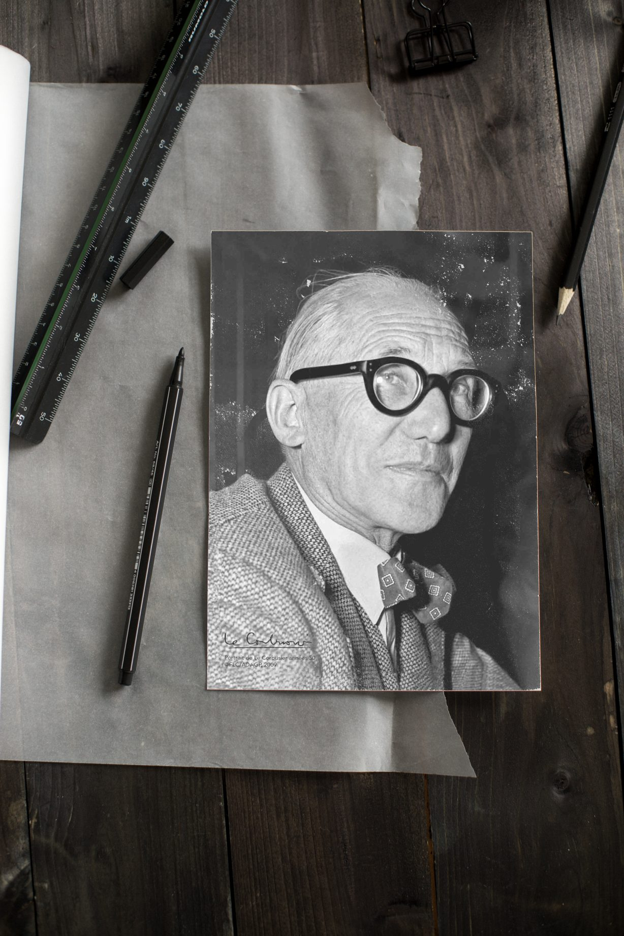 Le Corbusier Portrait Architekt