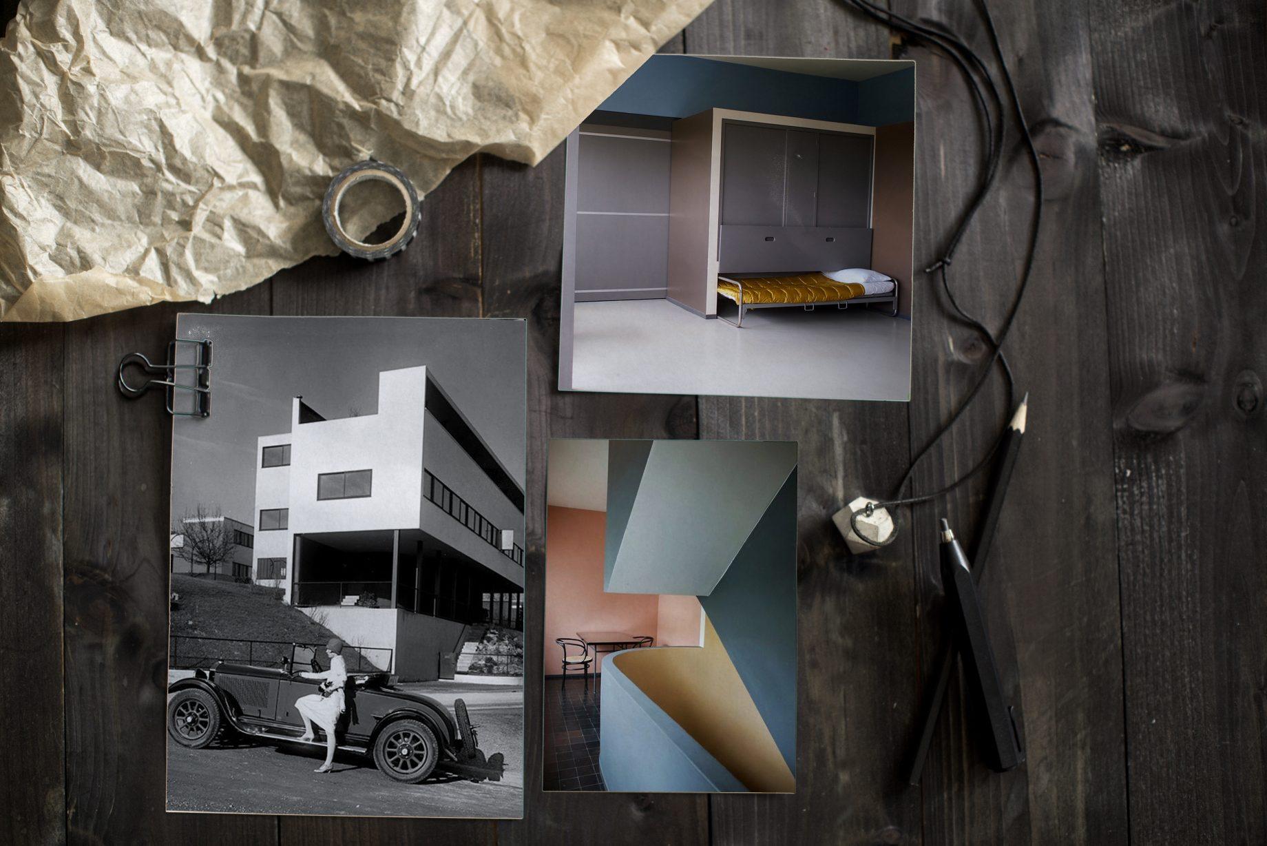 Le Corbusier Archtekt und Möbeldesigner Referat Artikel Weißenhofsiedlung Stuttgart