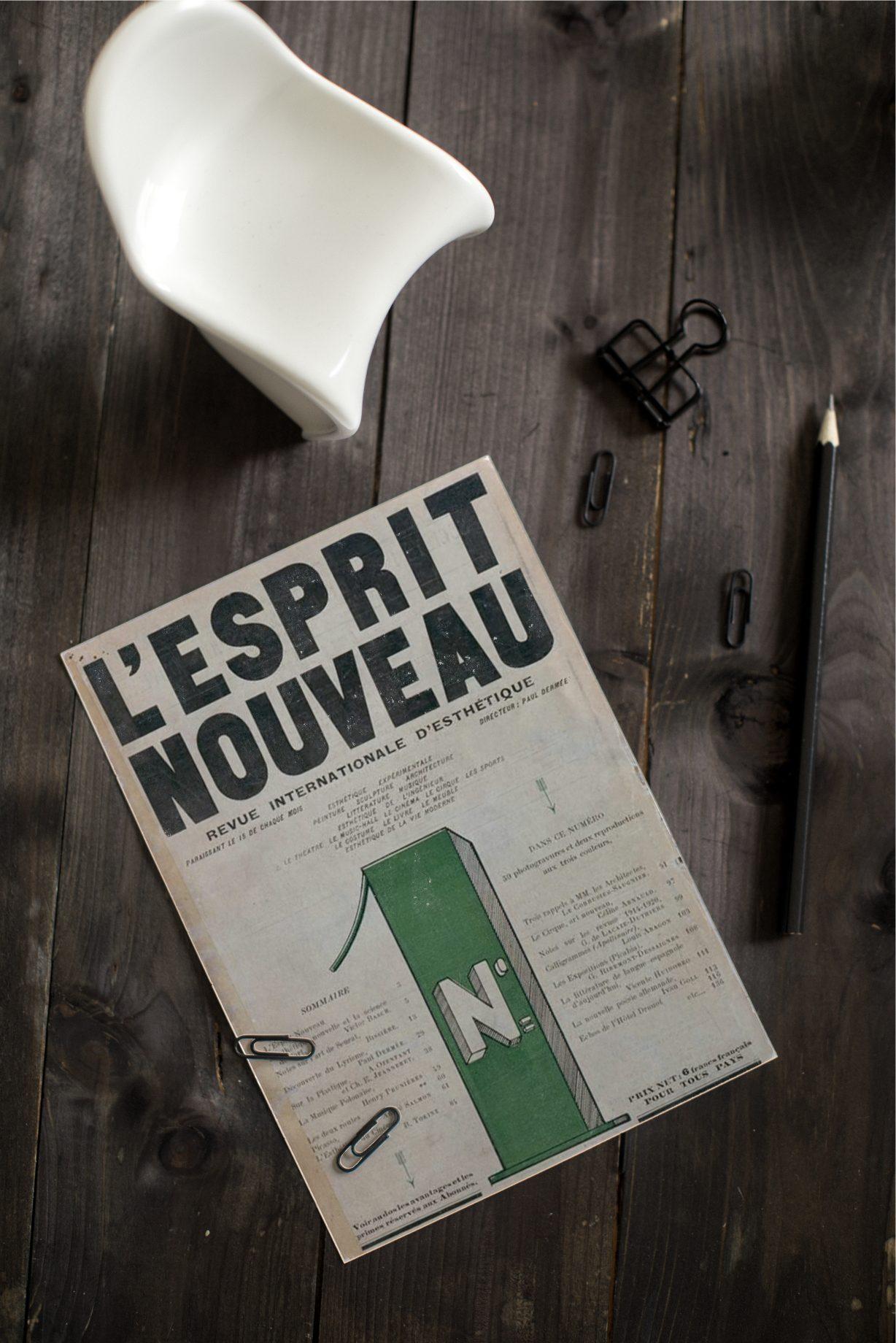le corbusier zeitschrift L esprit Nouvau Architektur und Möbeldesign