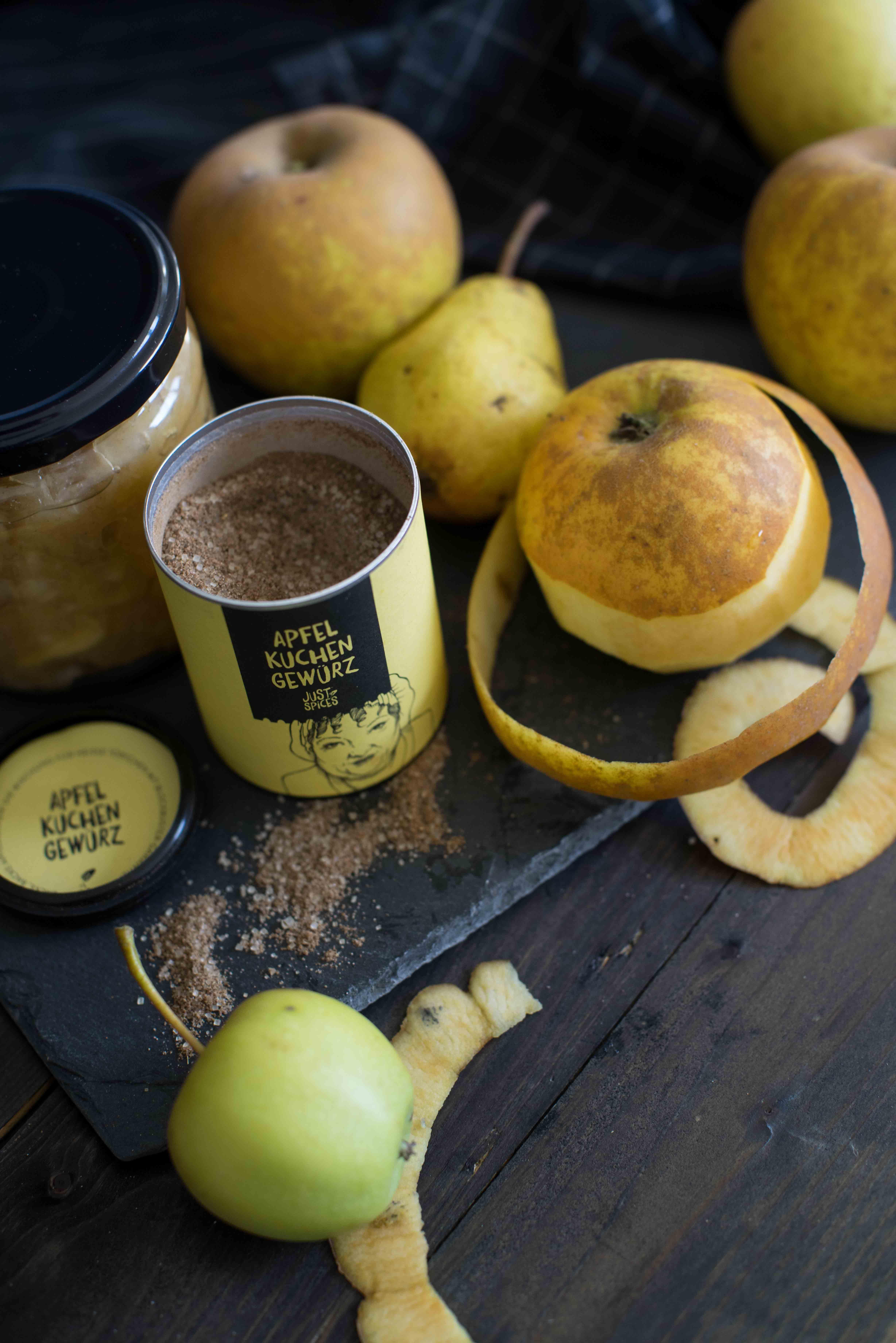Rezept DIY Apfelmus Apfelbrei mit Gewürzen von Just Spices